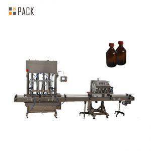 Automaattinen Spindle Capper PET-muovipullokannen korkkikone