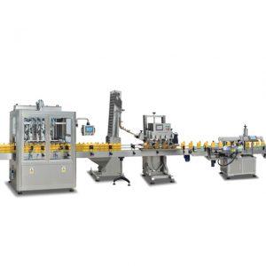 Täysin automaattiset 2 in 1 sus304 -pullotäyttökoneet oliiviöljyn valmistukseen