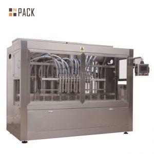 Automaattinen 8 täyttösuuttimen neste / pasta / kastike / hunaja täyttö kone