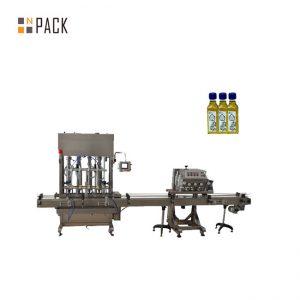 Automaattinen 1-5L mäntäpullopurkkiöljyöljyn moottoriöljyn täyttö kone