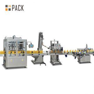 hillo mäntä täyttö kone, automaattinen kuuma kastike täyttö kone, chili kastike tuotantolinja