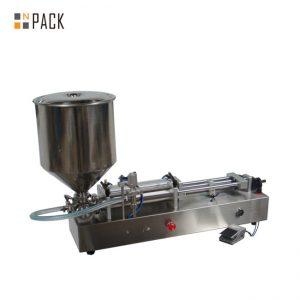 Erittäin suosittu jäätelön täyttökone / kaksipäisten päätä täyttö kone / kynsilakan täyttö kone