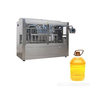 Täysin automaattinen sinappipalmun syötävän öljyn täyttö pakkauskone