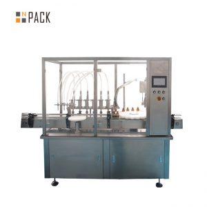 Eteeristen öljyjen täyttökorkkien ruuvauslaitteet 10-100ml E nestemäisiä E-mehujen täyttökorkkikoneita