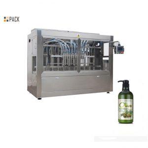 Täydellinen automaattinen pullotettu käsisampoon täyttökone