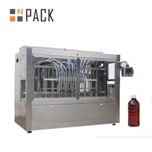 Automaattinen keittoöljyä täyttö kone kastike hillo hunaja täyttö korkki kone