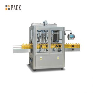 Automaattinen purkin täyttöpakkauskone / 5 gallonan pesun korkki täyttö kone